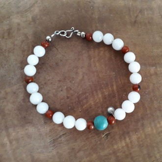 White color Quartz Bracelet for Women
